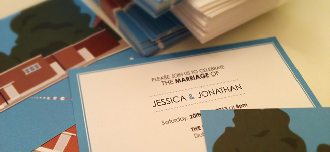 Place in Print Wedding Invitations