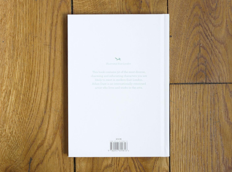 Hoxton Mini Press 50 People of East London Illustrated Book Back
