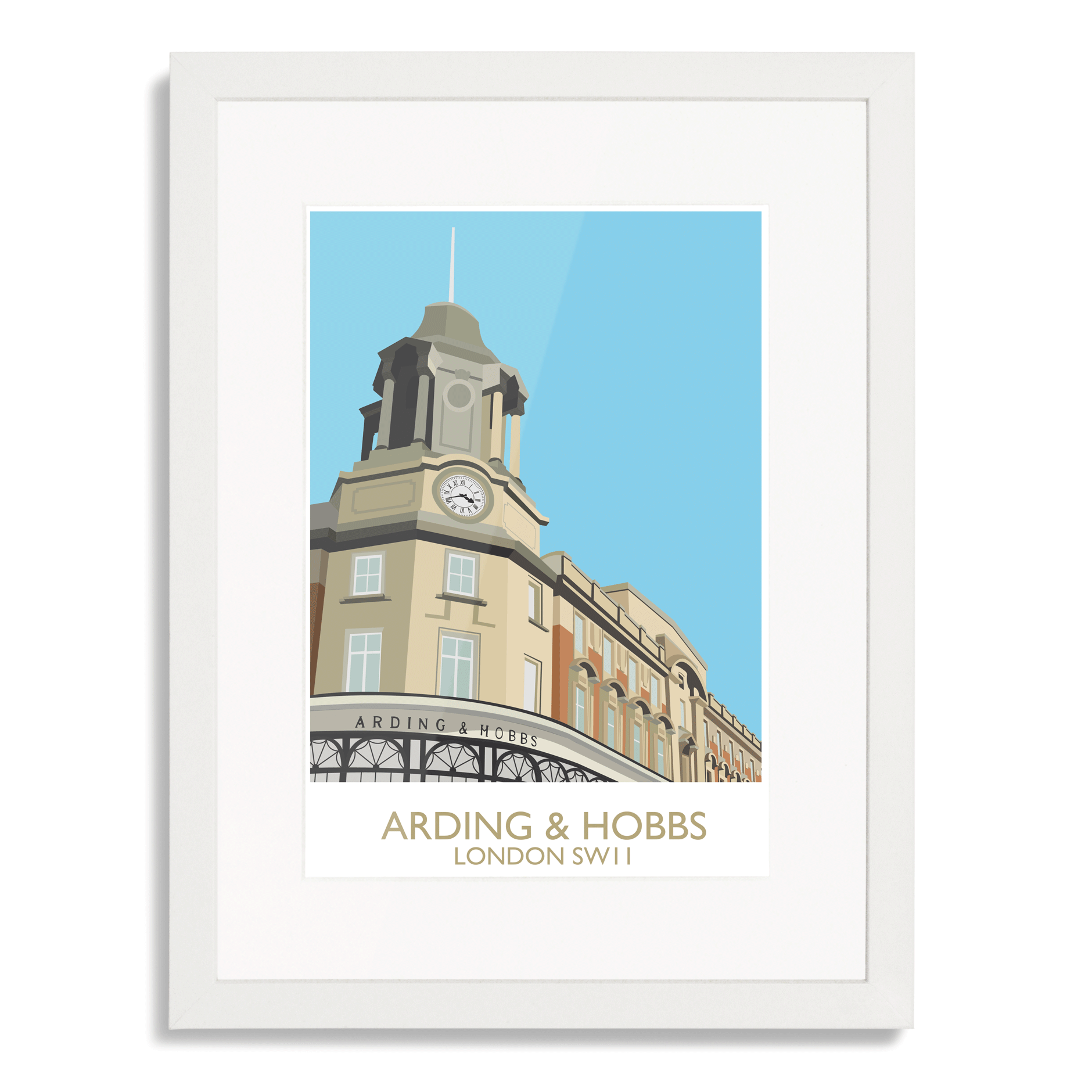 Arding and Hobbs Art Print