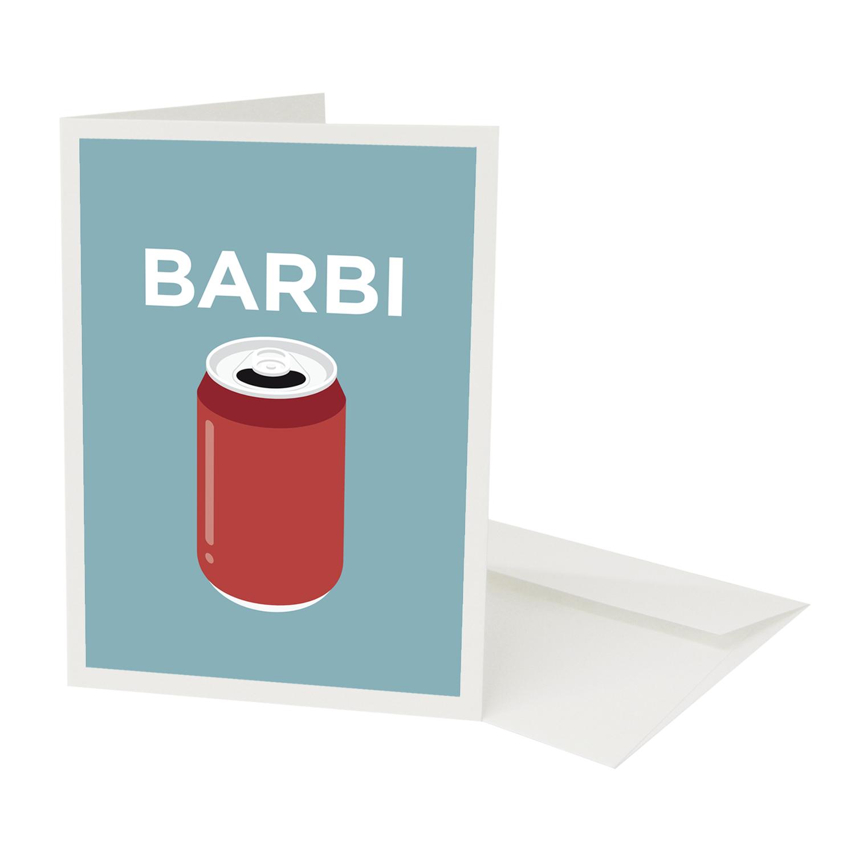 Place in Print Pate Barbican Neighbourhood Pun Greetings Card