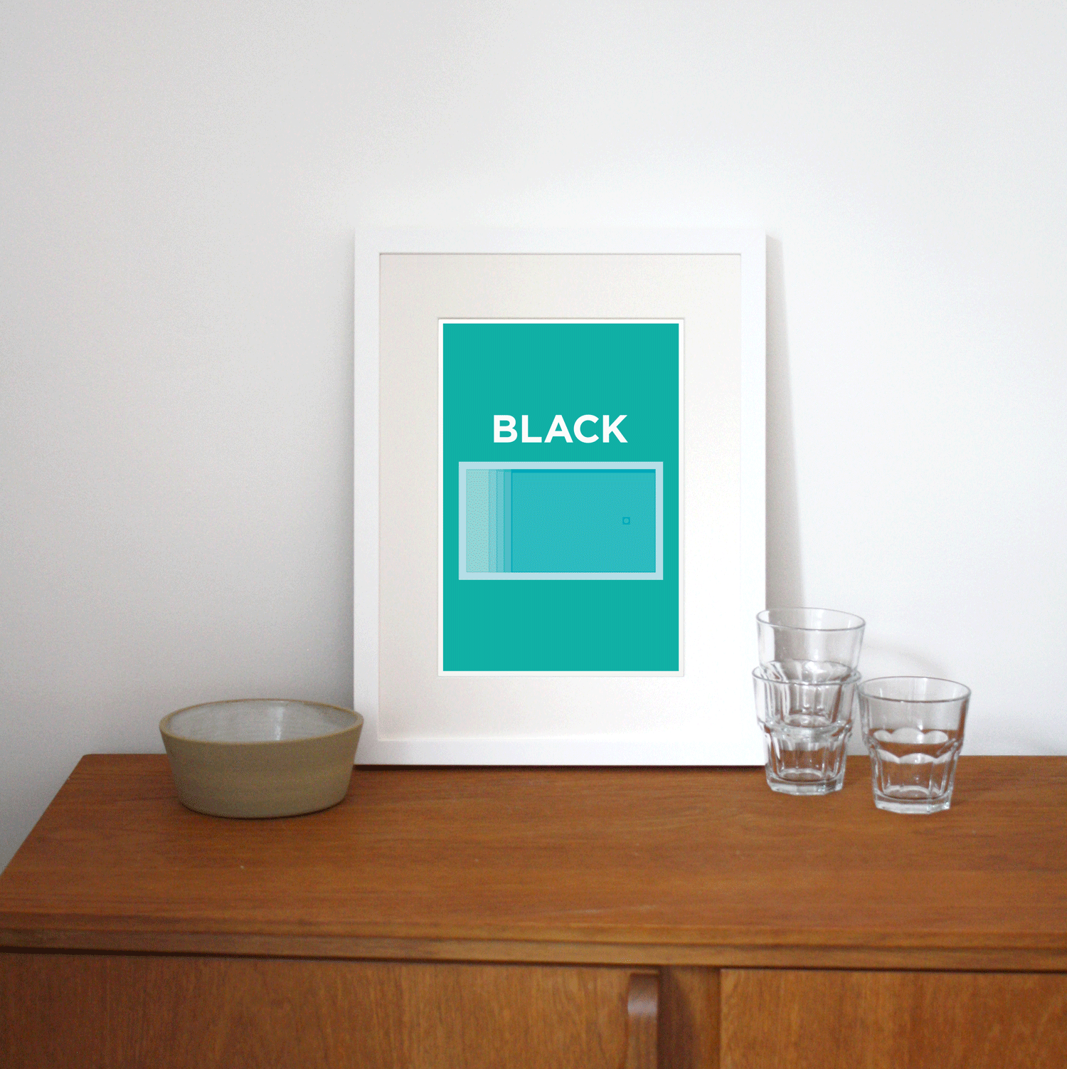 Place in Print Pate Blackpool Neighbourhood Pun Art Print Lifestyle