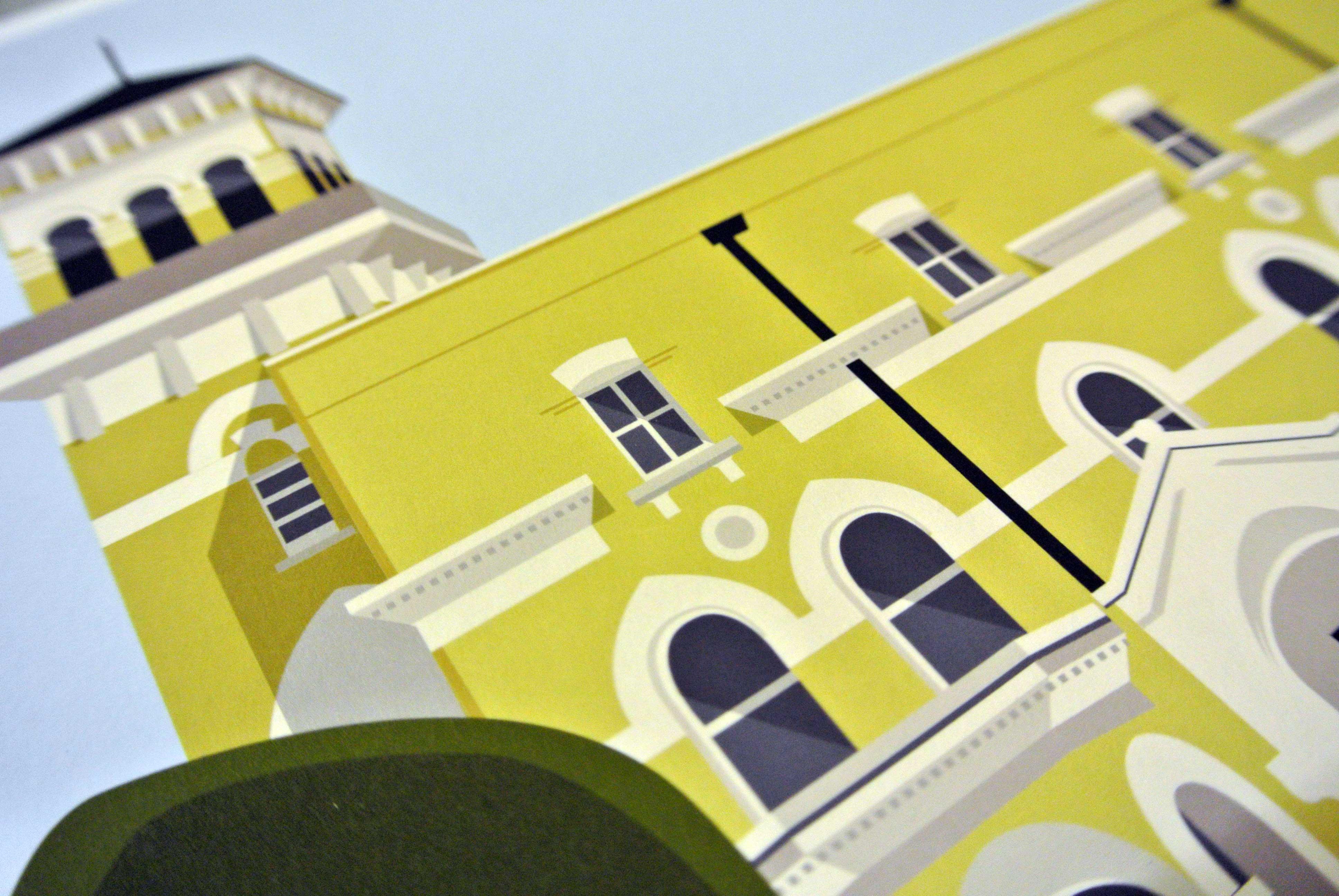 Broomwood Hall Upper School Art Print