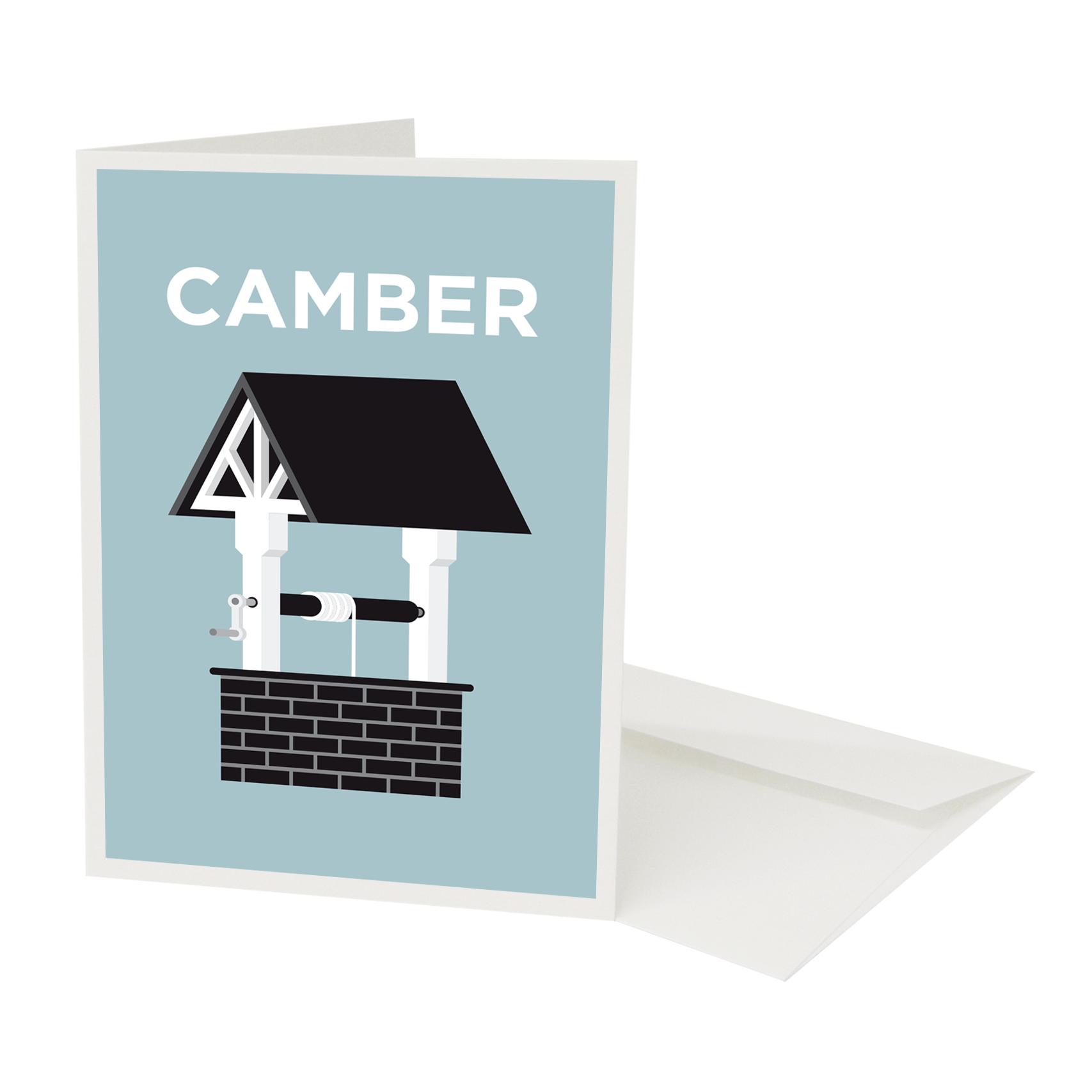 Place in Print Pate Camberwell Neighbourhood Pun Greetings Card