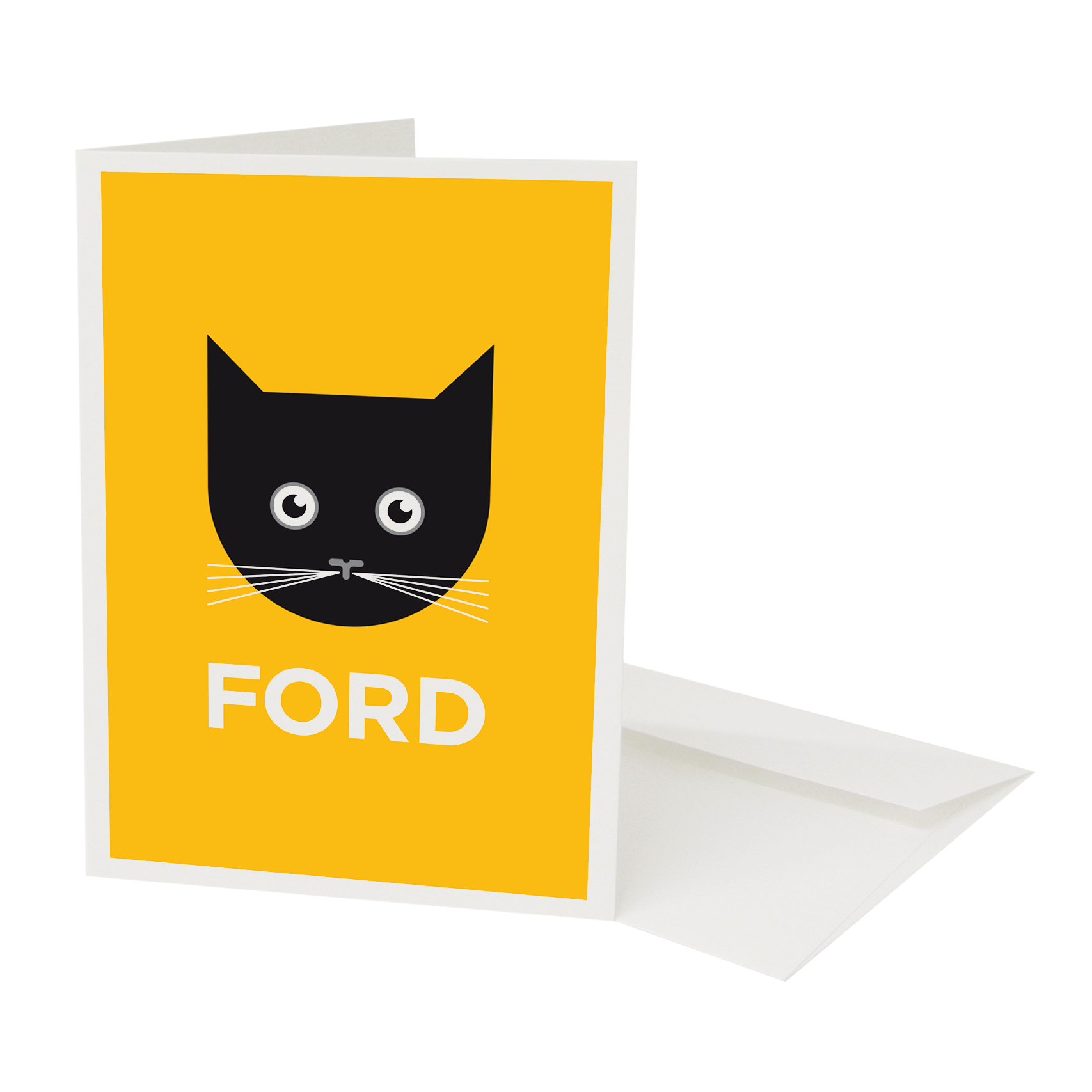 Place in Print Pate Catford Neighbourhood Pun Greetings Card