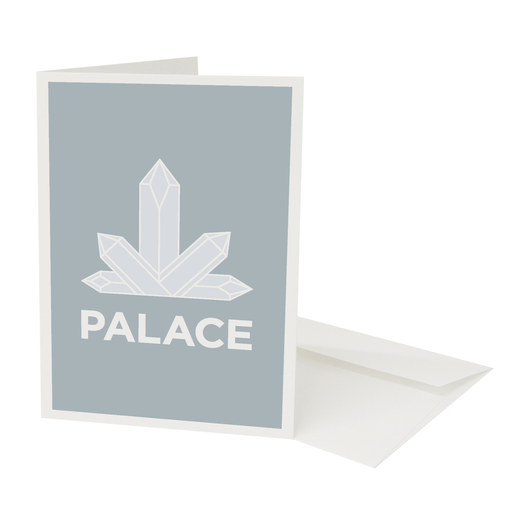 Place in Print Pate Crystal Palace Neighbourhood Pun Greetings Card