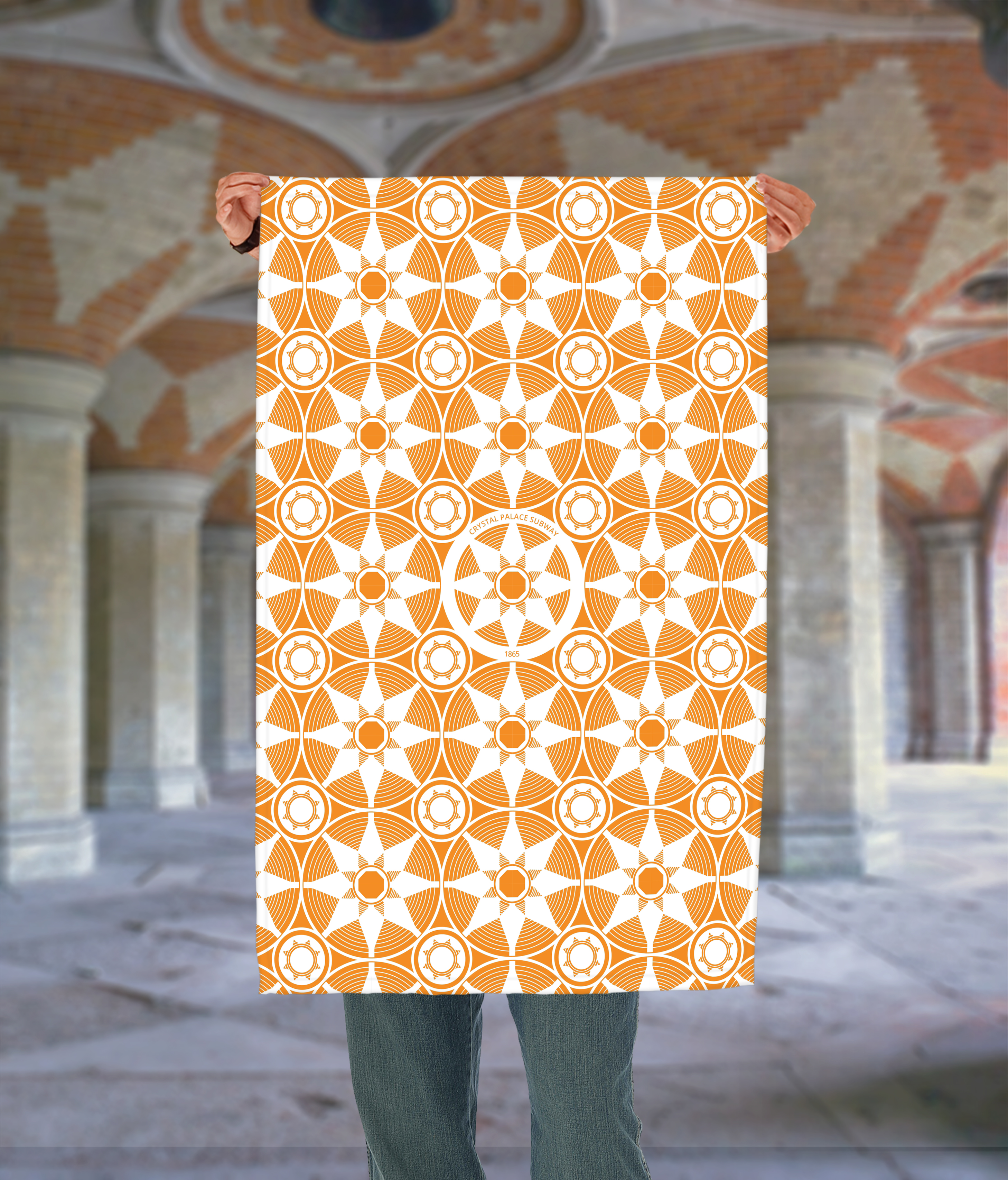 Place in Print Crystal Palace Subway Tea Towel