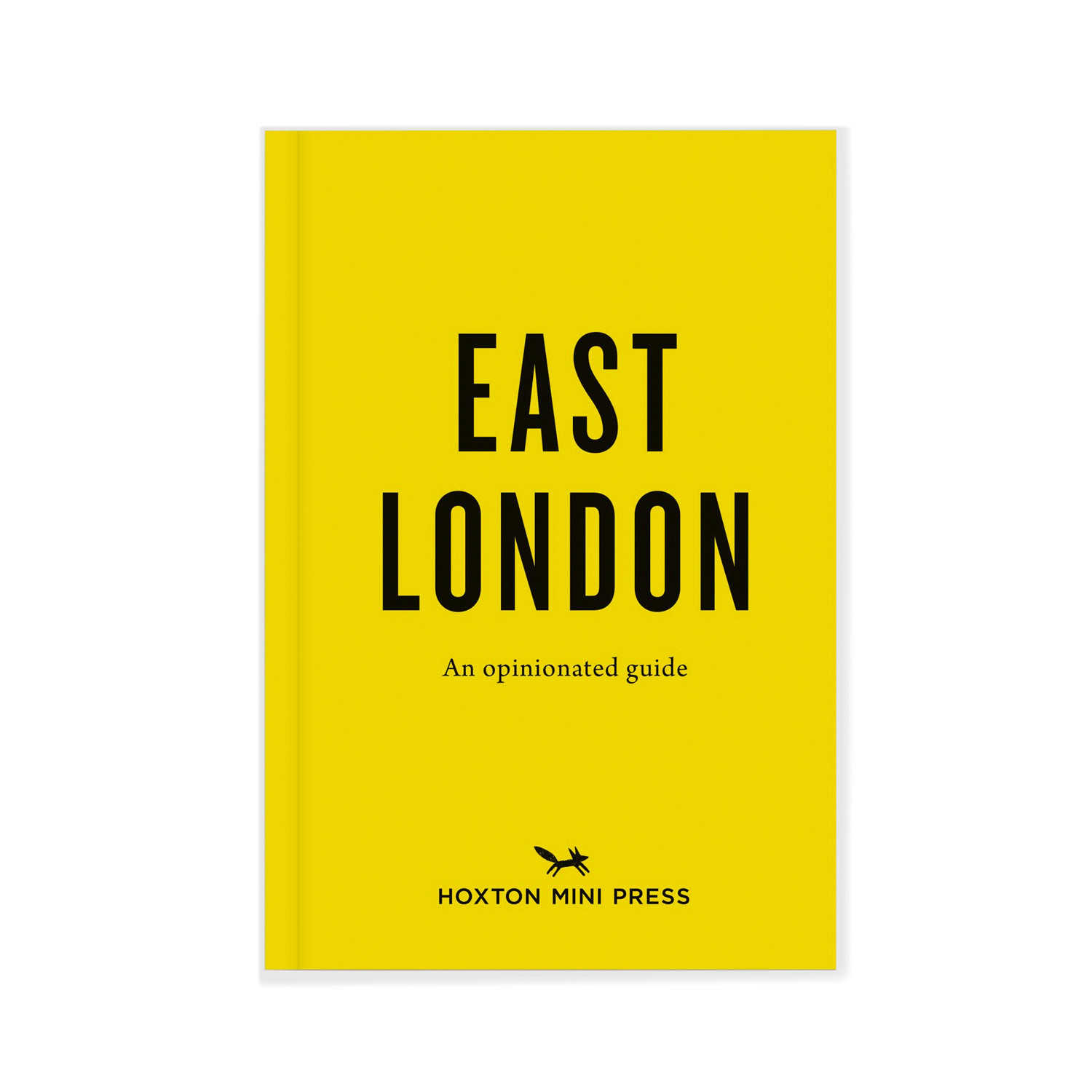 Hoxton Mini Press East London Opinionated Guide Book Front