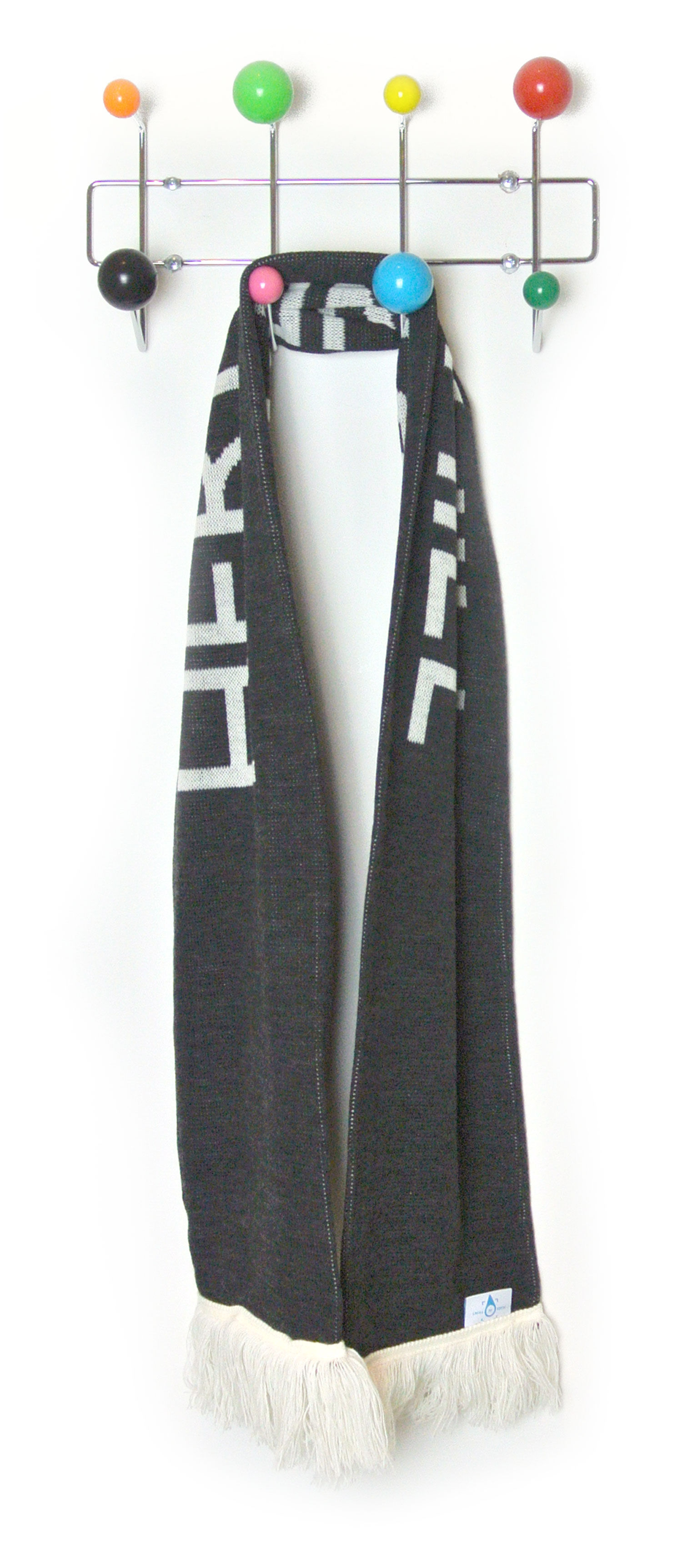 Place in Print Herne Hill Bus Destination Blind Scarf Hanging