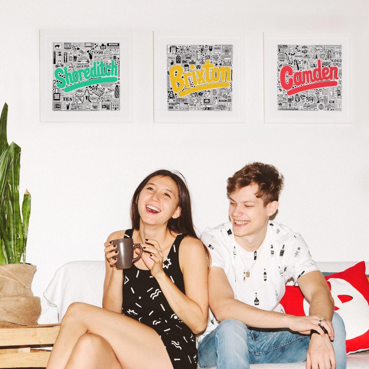 Place in Print Jenni Sparks Brighton Hometowns Art Print Lifestyle