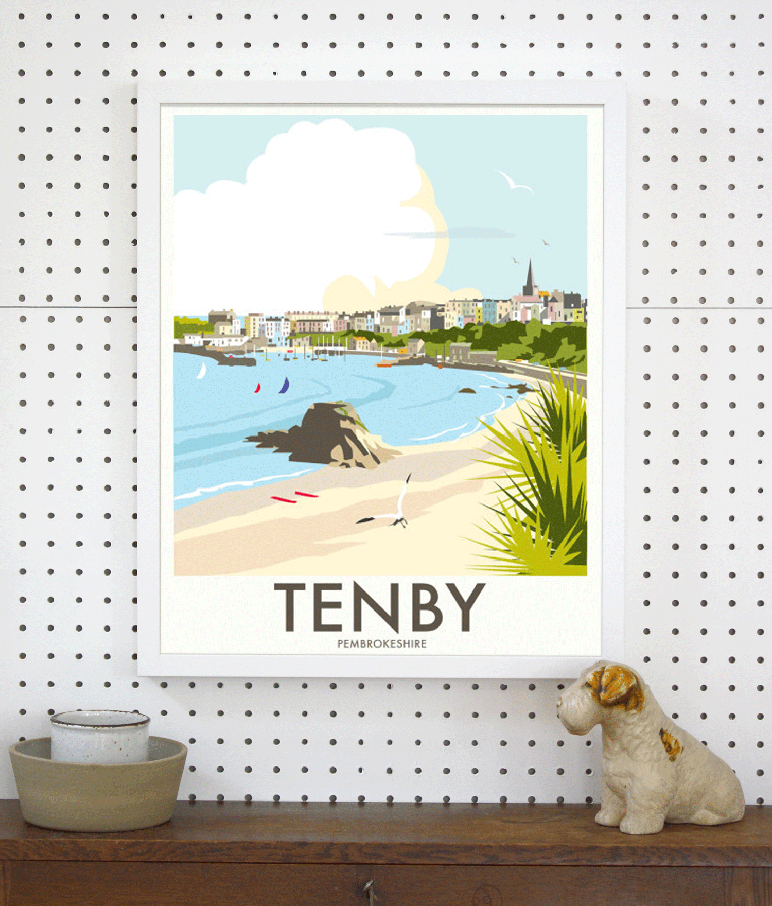 Place in Print Dave Thompson Dave Thompson Travel Poster Art Print Lifestyle
