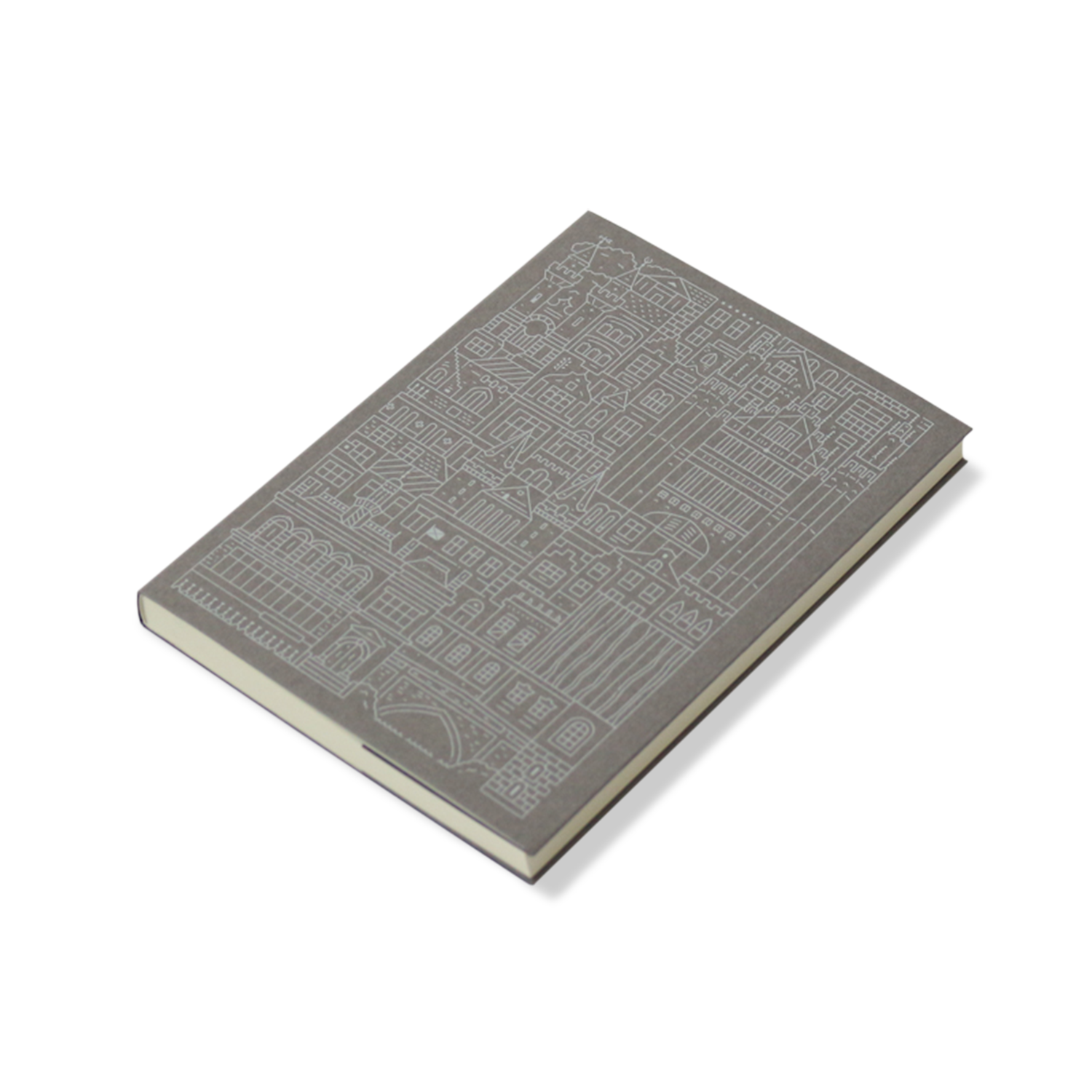 Place in Print The City Works Aberdeen Notebook Exterior