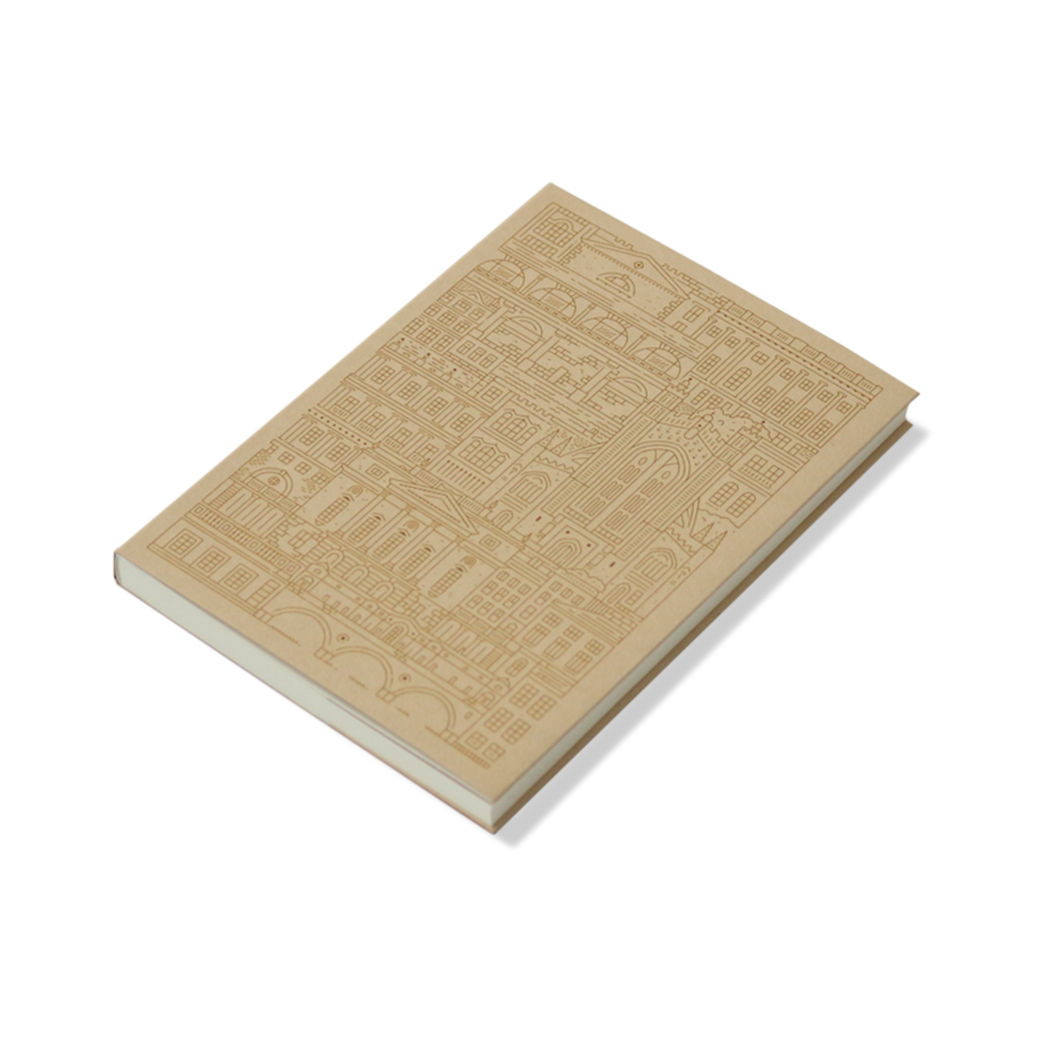 Place in Print The City Works Bath Notebook Exterior