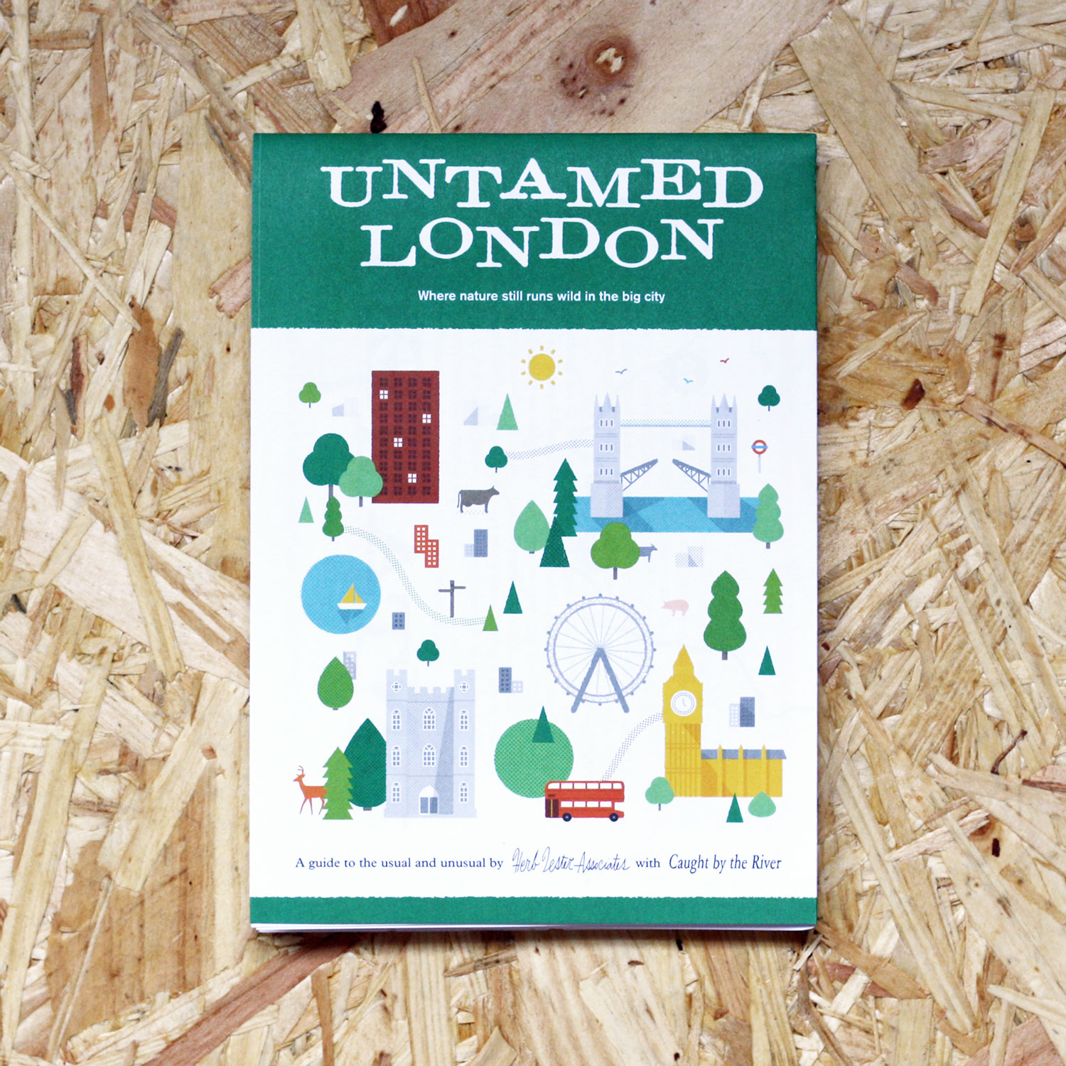 herb lester untamed london book map guide front cover