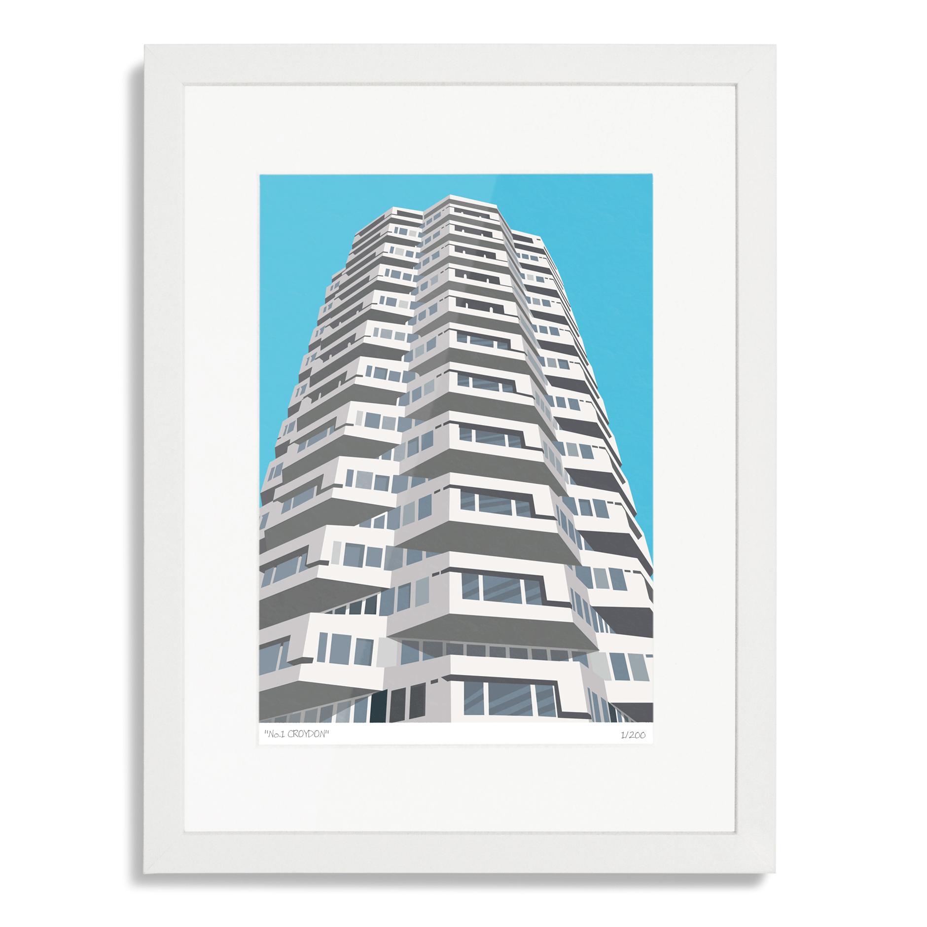 Place in Print No1 Croydon Art Poster Print