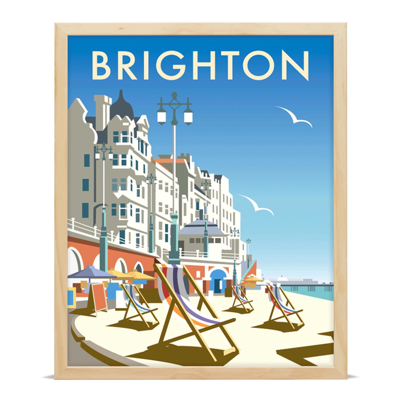 Thompson Travel Uk: Brighton Travel Poster