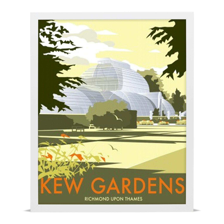 Kew Gardens Travel Poster Giclée Art Print