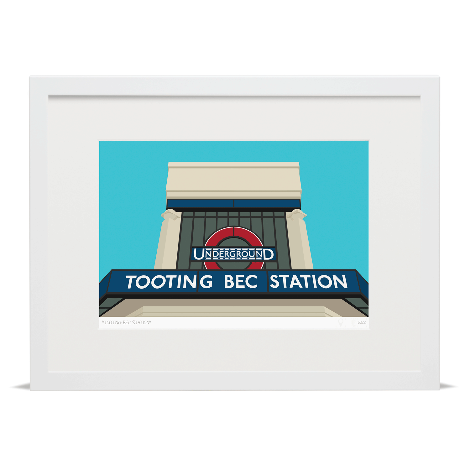 Tooting Bec Station | Tooting Art Prints (Limited Edition) | Place ...