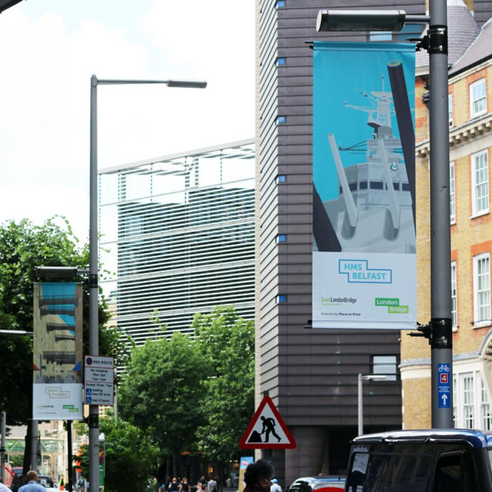 Place in Print London Bridge Banners