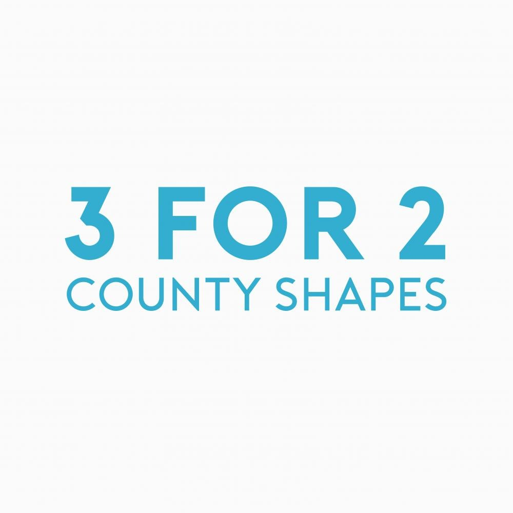 Place in Print County Shapes Promotion