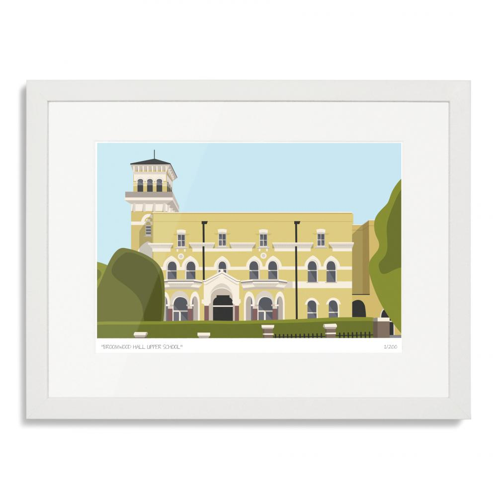 Broomwood Hall Upper School Art Print