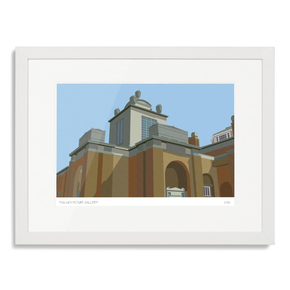Dulwich Picture Gallery Art Poster Print