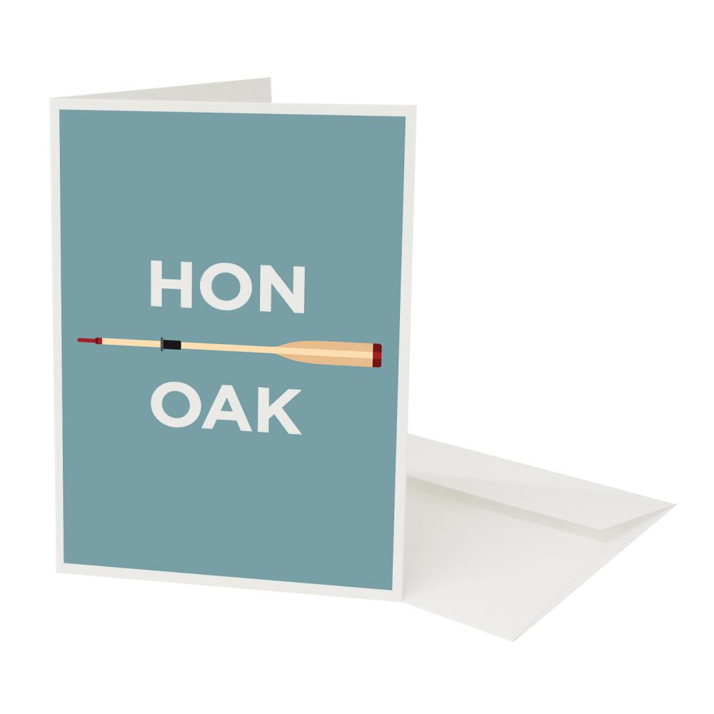 Place in Print Honor Oak Pate Neighbourhood Pun Greetings Card