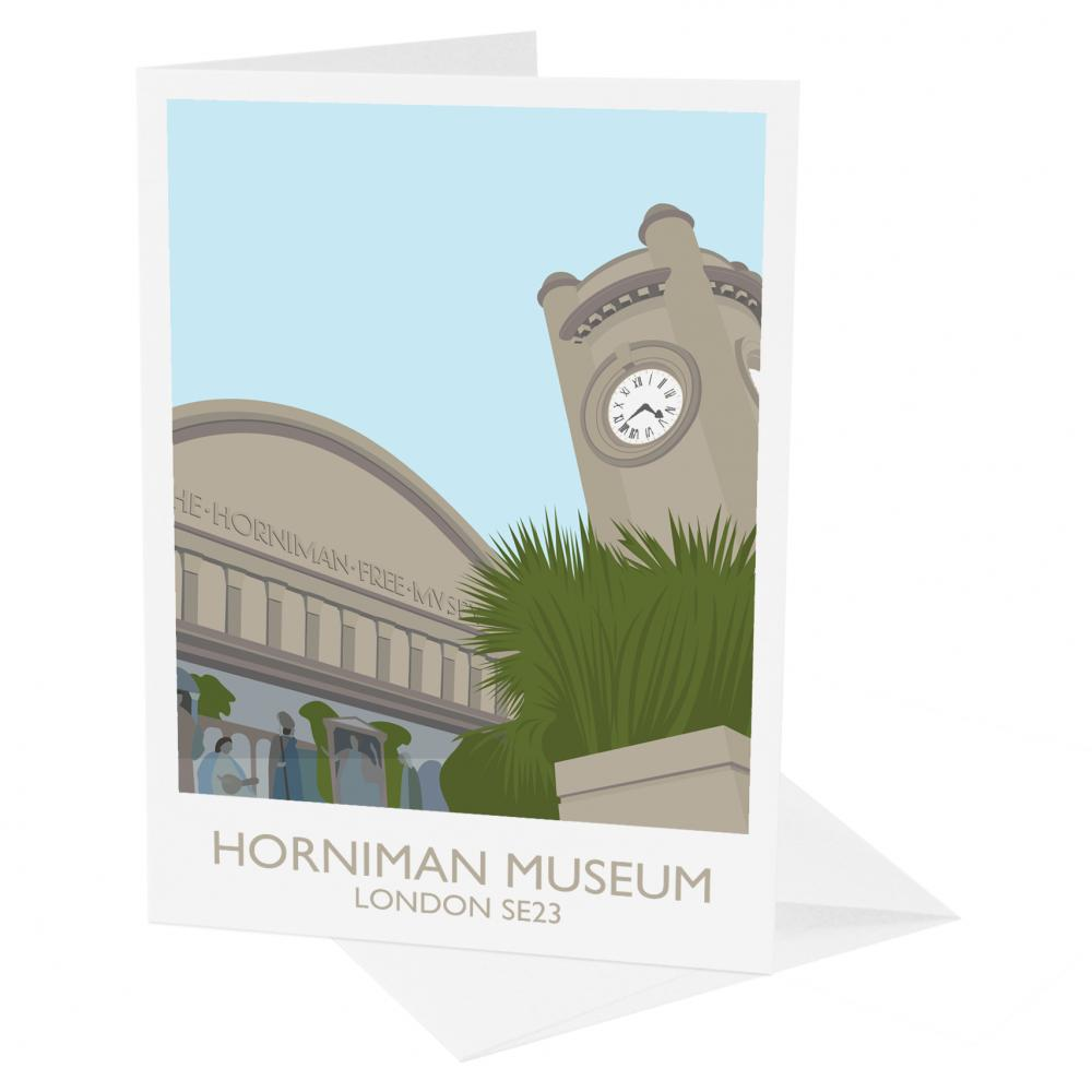 South London Prints Horniman Museum Greetings Card