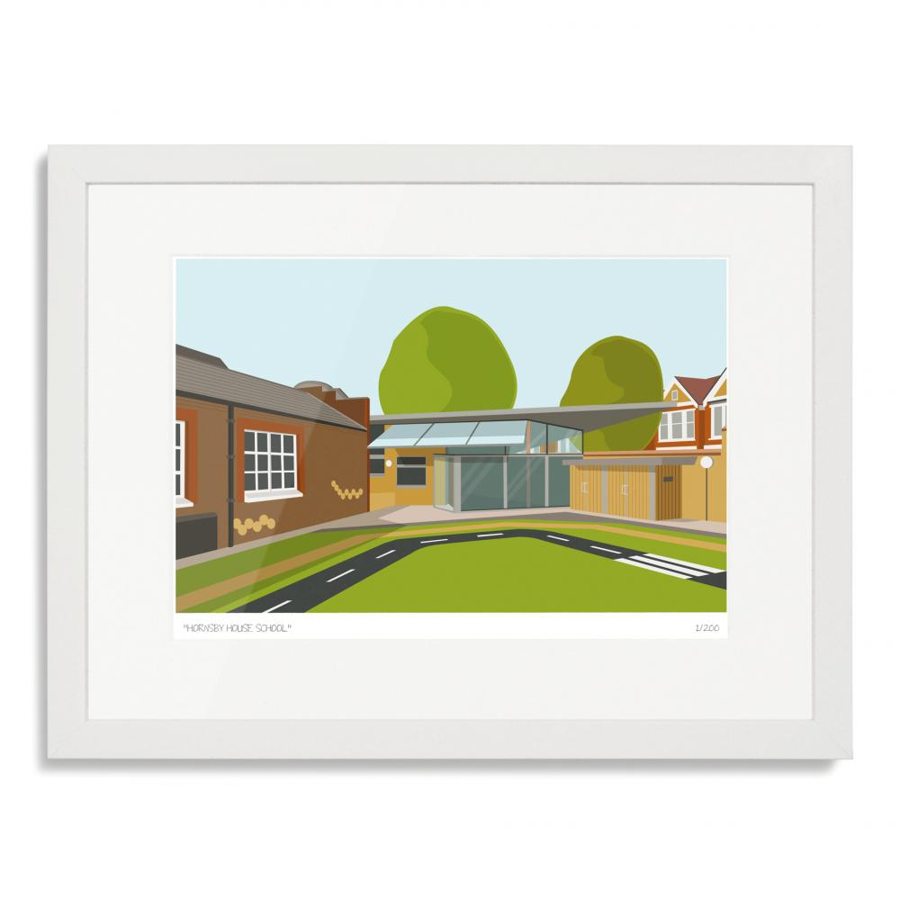 Hornsby House School Art Poster Print