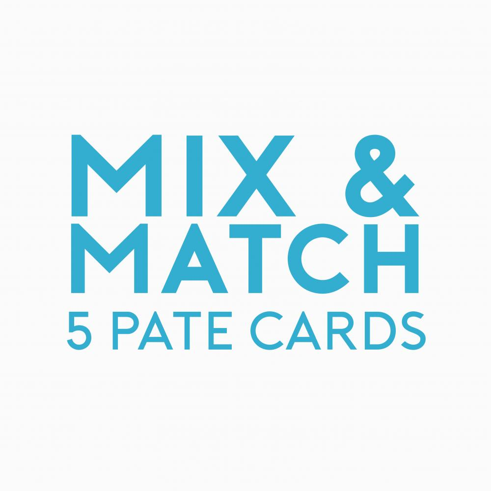 Place in Print Mix and Match Pate Cards Promotion