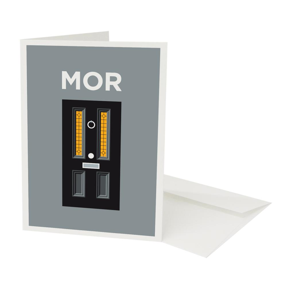 Place in Print Pate Mordor Neighbourhood Pun Play on Worlds Greetings Card