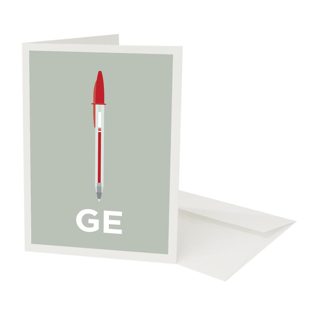 Place in Print Penge Neighbourhood Pun Greetings Card