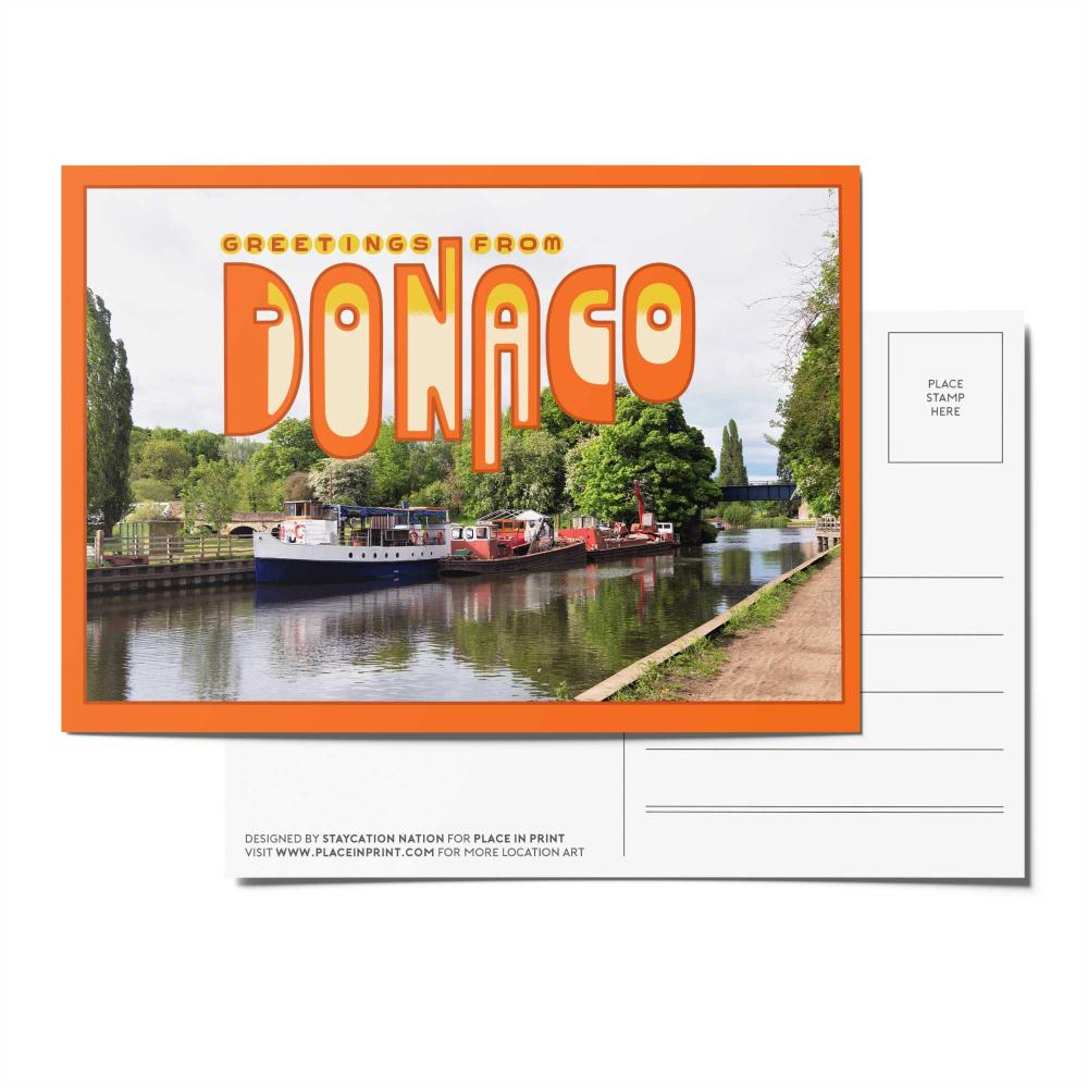 Place in Print Staycation Nation Donaco Postcard