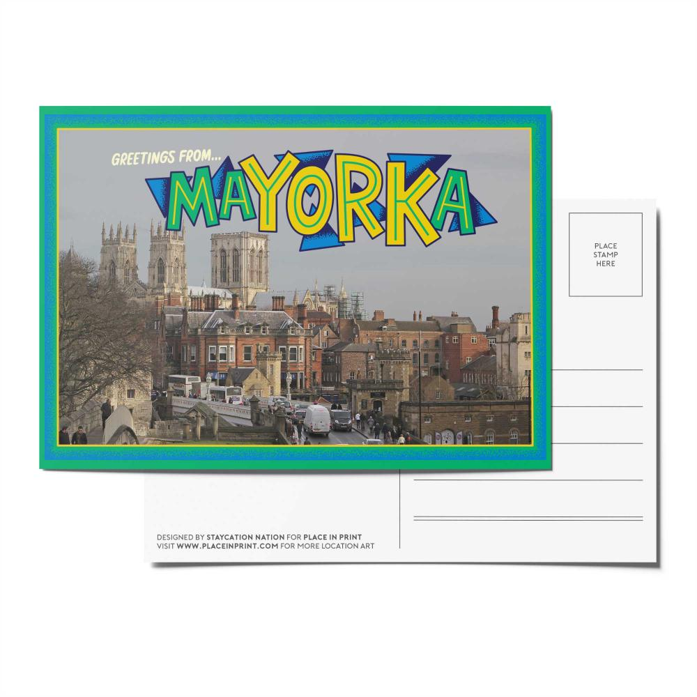 Place in Print Staycation Nation Mayorka Postcard