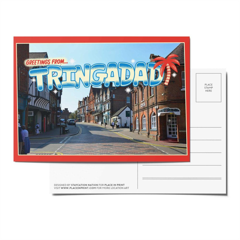 Place in Print Staycation Nation Tringadad Postcard