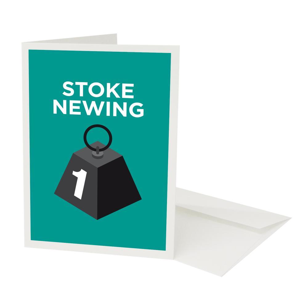 Place in Print Pate Stoke Newington Neighbourhood Pun Greetings Card
