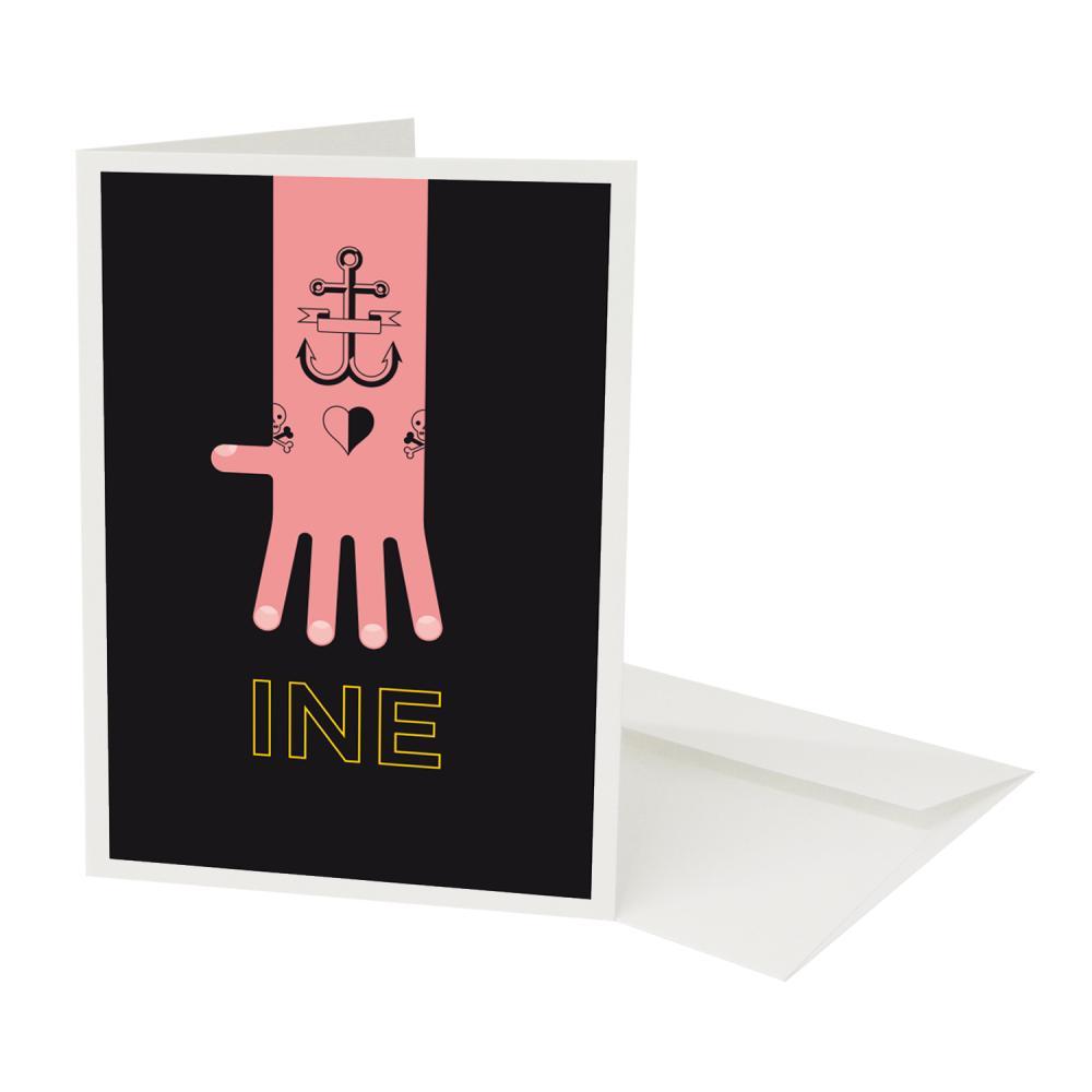 Place in Print Pate Tatooine Neighbourhood Pun Play on Worlds Greetings Card