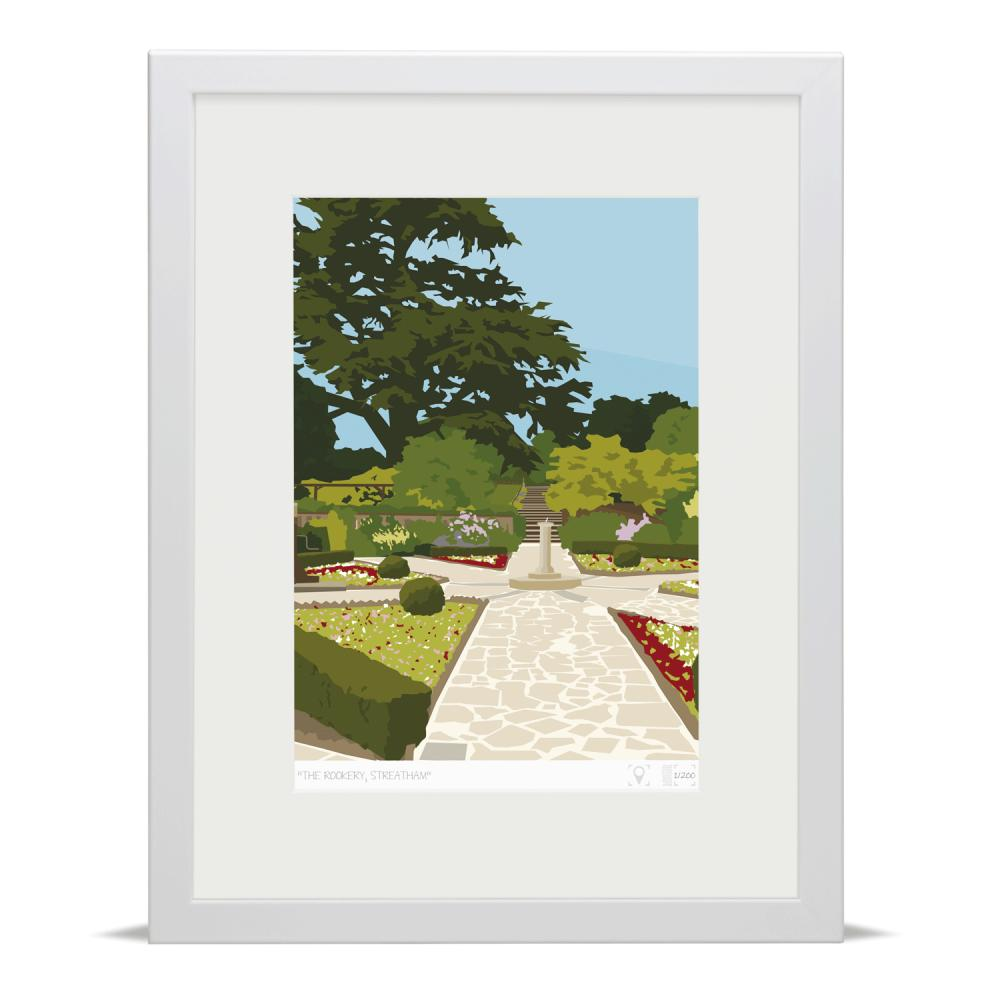 Place in Print The Rookery Streatham Art Print
