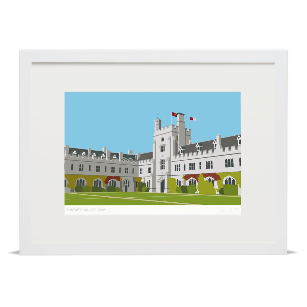 Place in Print University College Cork Munster Ireland Art Print
