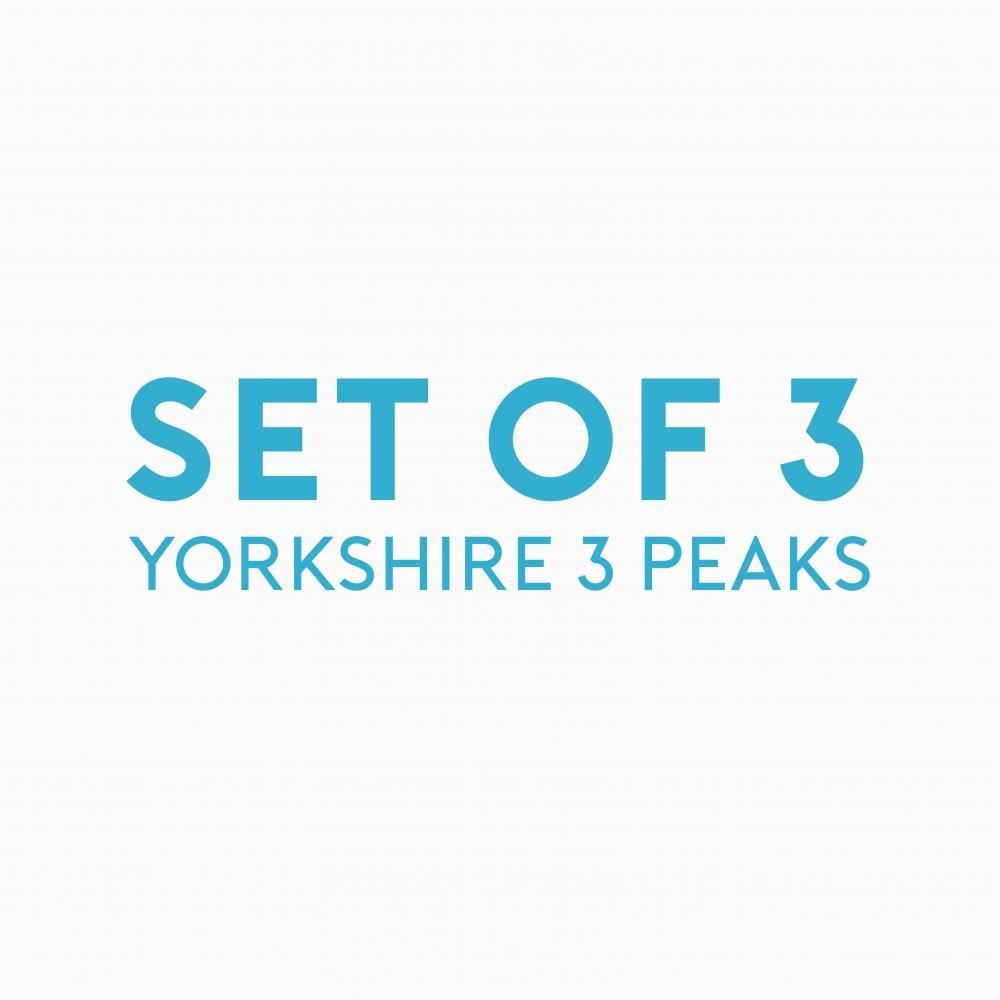 Place in Print John Morris Yorkshire Three Peaks Art Print Triptych