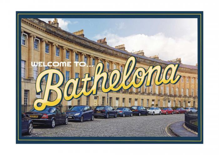 Place in Print Staycation Nation Bathelona Art Print