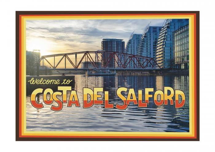 Place in Print Staycation Nation Costa del Salford Art Print