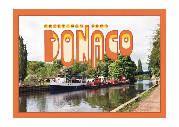 Place in Print Staycation Nation Donaco Art Print