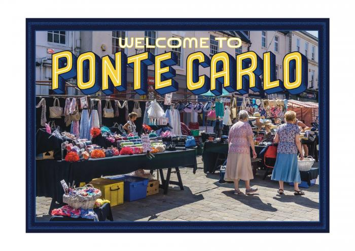 Place in Print Staycation Nation Ponte Carlo Art Print