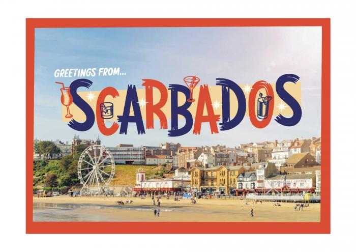 Place in Print Staycation Nation Scarbados Art Print