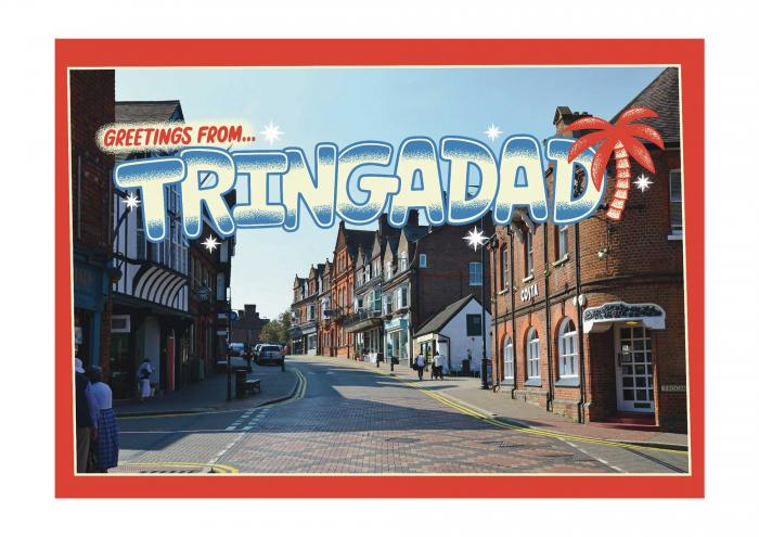 Place in Print Staycation Nation Tringadad Art Print