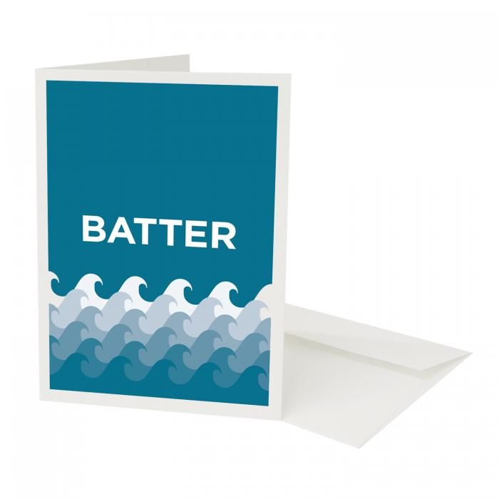 Place in Print Pate Battersea Neighbourhood Pun Greetings Card