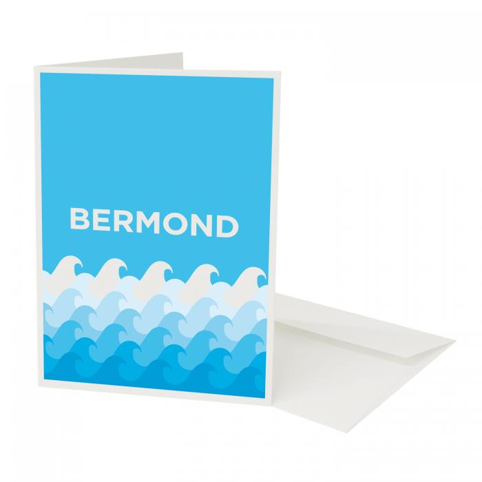Place in Print Pate Bermondsey Neighbourhood Pun Art Greetings Card