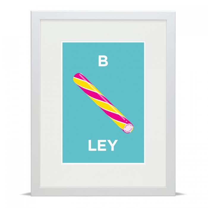 Place in Print Pate Brockley Neighbourhood Pun Art Print