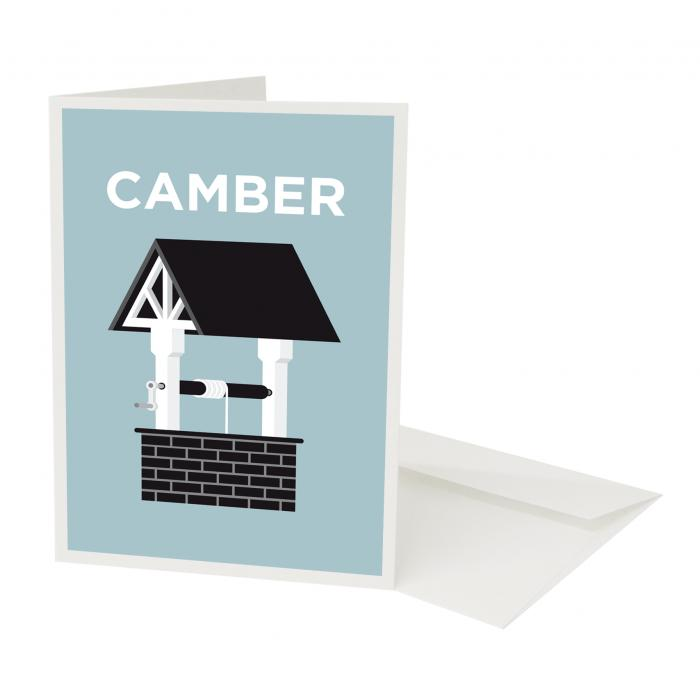 Place in Print Pate Camberwell Neighbourhood Pun Greetings Card