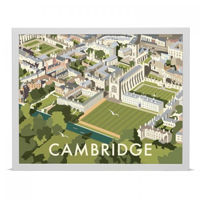 Place in Print Dave Thompson Cambridge Travel Poster Art Print